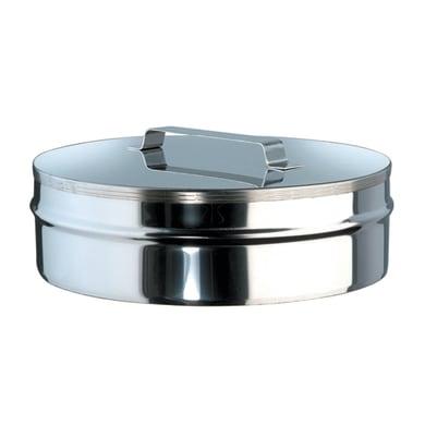 Copri buco Tappo Cieco inox 316L Dn 100/150 mm in inox 316l (elevata resistenza in condizioni climatiche estreme)