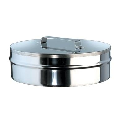 Copri buco Tappo Cieco inox 316L Dn 80/130 mm in inox 316l (elevata resistenza in condizioni climatiche estreme)