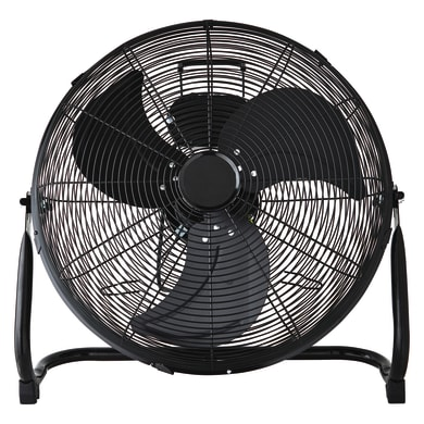 Ventilatore da pavimento EQUATION Jervis3 nero 110.0 W Ø 45.0 cm