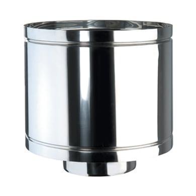 Terminale Anti intemper DP coib d.130/180 in inox 316l (elevata resistenza in condizioni climatiche estreme)
