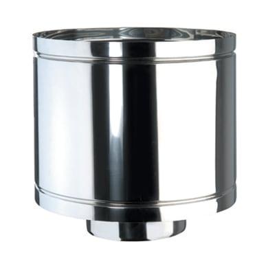 Terminale Anti intemper DP coib d.80/130 in inox 316l (elevata resistenza in condizioni climatiche estreme)