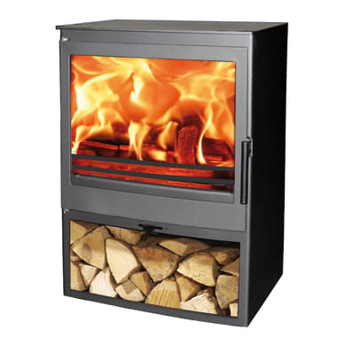Cucina a legna Saphir Ecodesign 7.1 kW nero