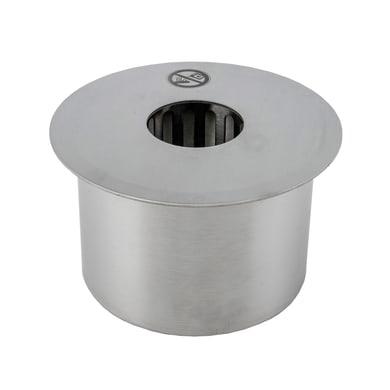 Biobruciatore per pavimento 0.5 L grigio / argento
