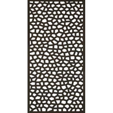 Traliccio fisso in polipropilene Mosaic L 100 x H 200 cm, Sp 5 mm