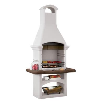 Barbecue in cemento refrattario PALAZZETTI Giarre 2 L 118 x P 78 x H 245 cm