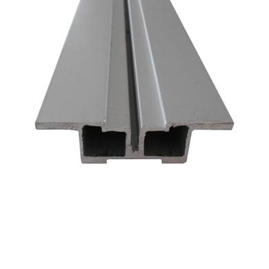 Travetto da pavimento Simplywood in alluminio 2 x 7.2 x L 200 cm