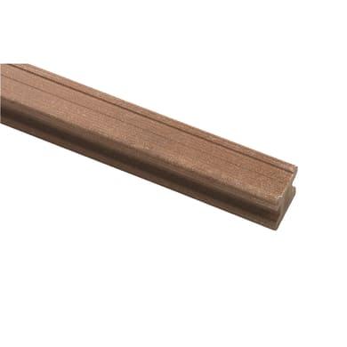 Travetto da pavimento COMPOSITE PREMIUM Premium in pvc 5 x 5 x L 240 cm