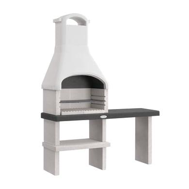 Barbecue in cemento refrattario PALAZZETTI L 59 x P 59 x H 216 cm