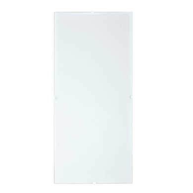 Plafoniera classico Brixen bianco, in vetro, 56x25.8 cm, 2  luci