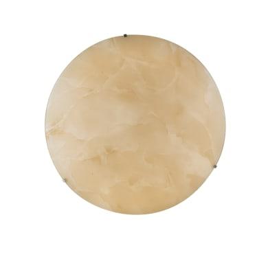 Plafoniera Canova ambrato, in vetro, diam. 45 , IP20