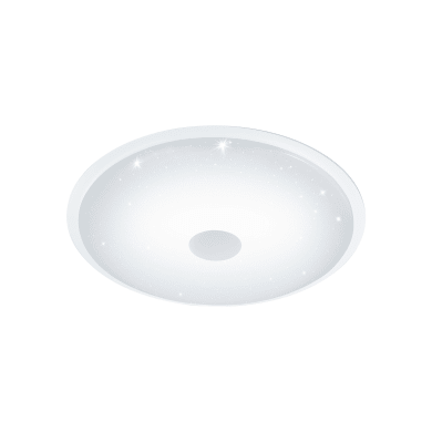 Plafoniera Lanciano bianco, in plastica, diam. 66, LED integrato 40W IP20 EGLO
