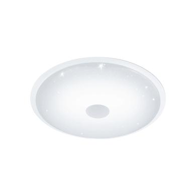Plafoniera moderno Lanciano LED integrato bianco D. 66 cm EGLO