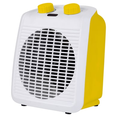 Termoventilatore da bagno EQUATION Five giallo / dorato 2000 W