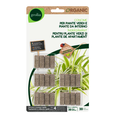 Concime bastoncini GEOLIA Organic 20 Pz