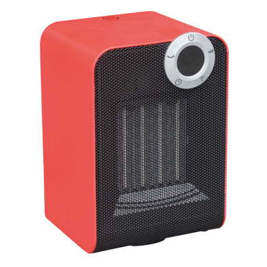 Termoventilatore ceramico mobile EQUATION Class 2 rosso 1800 W