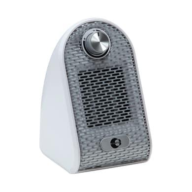 Termoventilatore elettrico EQUATION Mini USB bianco 500 W
