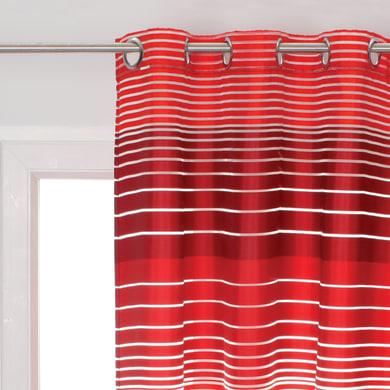 Tenda Ciko rosso occhielli 140 x 280 cm