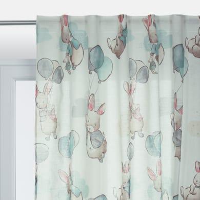 Tenda Coniglietto multicolore passanti nascosti 200 x 270 cm