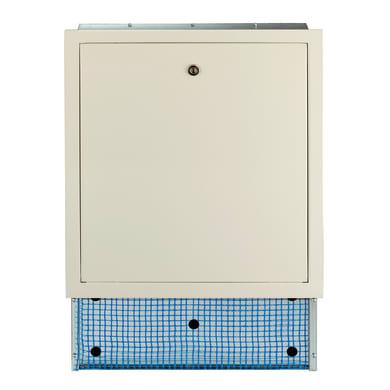 Cassetta collettore per riscaldamento a pavimento ad acqua L 700 x H 630 x P 90 mm