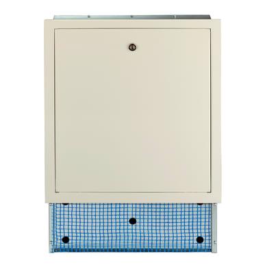 Cassetta collettore per riscaldamento a pavimento ad acqua L 850 x H 630 x P 80 mm