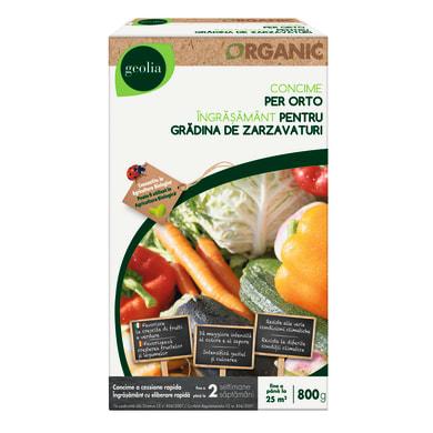 Concime per orto granulare GEOLIA Organic 800 Gr