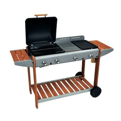Barbecue a gas Lerici 4 bruciatori