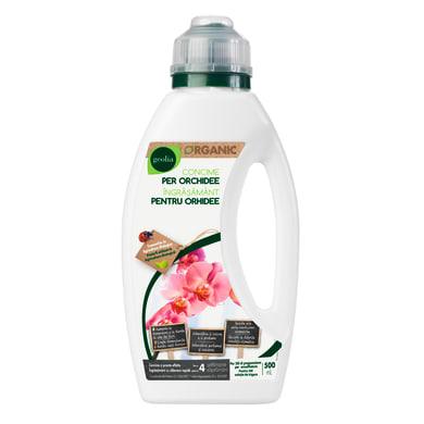 Concime piante fiorite liquido GEOLIA Organic 500 ml