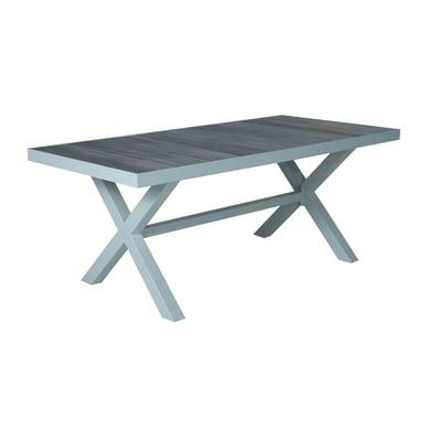 Tavolo da giardino rettangolare Vittoria NATERIAL con piano in pietra L 90 x P 185 cm