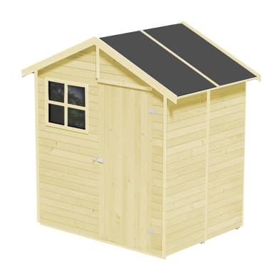 Casetta da giardino in legno Portofino,  superficie interna 2.14 m² e spessore parete 14 mm