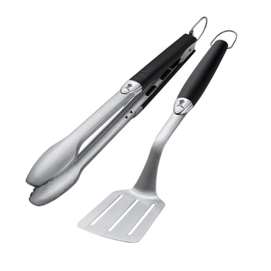 Kit utensili WEBER Set accessori barbecue in inox