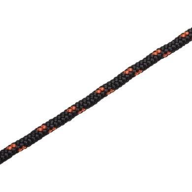 Corda a treccia in polietilene STANDERS L 25 m nero