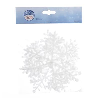 Fiocchi di Neve in plastica  x P 0.01 cm  Ø 15.5 cm