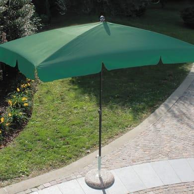 Ombrellone Poli L 2.2 x P 1.2 m color verde