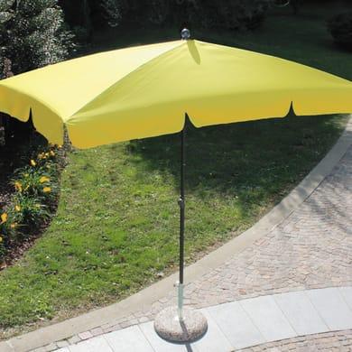 Ombrellone Poli L 2.2 x P 1.2 m color giallo