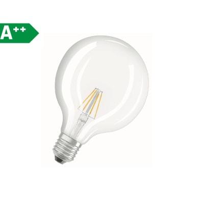 Lampadina Filamento LED E27 globo bianco naturale 7W = 806LM (equiv 60W) 320° OSRAM