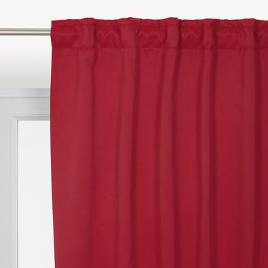 Tenda INSPIRE Oscurante termica Stop Cold rosso fettuccia con passanti nascosti 140 x 280 cm