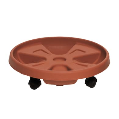 Supporto di vaso in plastica Roller H 8.6 cm,Ø 35 cm