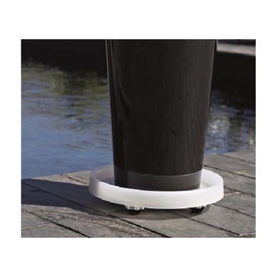 Supporto con rotelle per vaso in plastica ARTEVASI H 6.2 cm, L 35 x L 35 cm Ø 35 cm