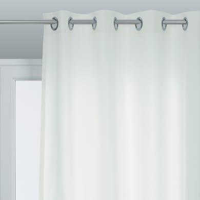 Tenda Pronta INSPIRE Sunny bianco occhielli 140 x 280 cm