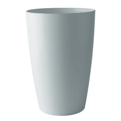 Vaso Santorini ARTEVASI in polipropilene colore bianco H 40 cm, L 29 x Ø 29 cm