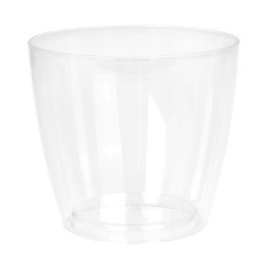 Vaso Sanremo ARTEVASI in polipropilene colore trasparente H 14.5 cm, L 16 x Ø 16 cm