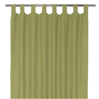 Tenda INSPIRE Elema verde passanti 140 x 280 cm