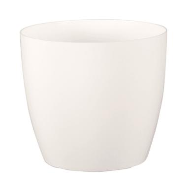 Vaso Sanremo ARTEVASI in polipropilene colore bianco H 39.5 cm, L 42 x Ø 42 cm