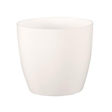 Vaso Sanremo ARTEVASI in polipropilene colore bianco H 33.5 cm, L 36 x Ø 36 cm