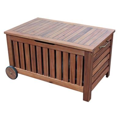 Baule da esterno NATERIAL in legno marrone 85 x 53 cm