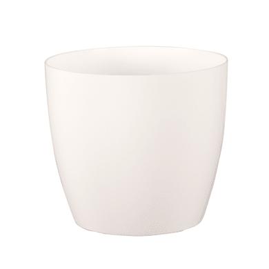 Vaso Sanremo ARTEVASI in polipropilene colore bianco H 27.3 cm, L 30 x Ø 30 cm