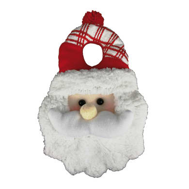 Fuoriporta Babbo Natale in tessuto H 30 cm