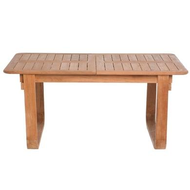 Tavolo da giardino allungabile NATERIAL con piano in legno L 160 x P 90 cm