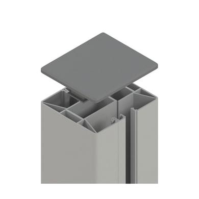 Palo in acciaio galvanizzato Krystal x H 105 cm