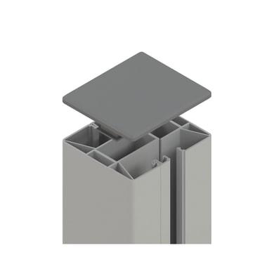 Palo in acciaio galvanizzato Krystal x H 192.5 cm